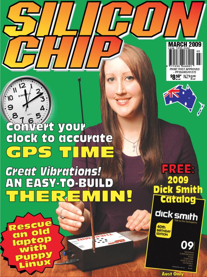 Silicon chip magazine theramin march 09