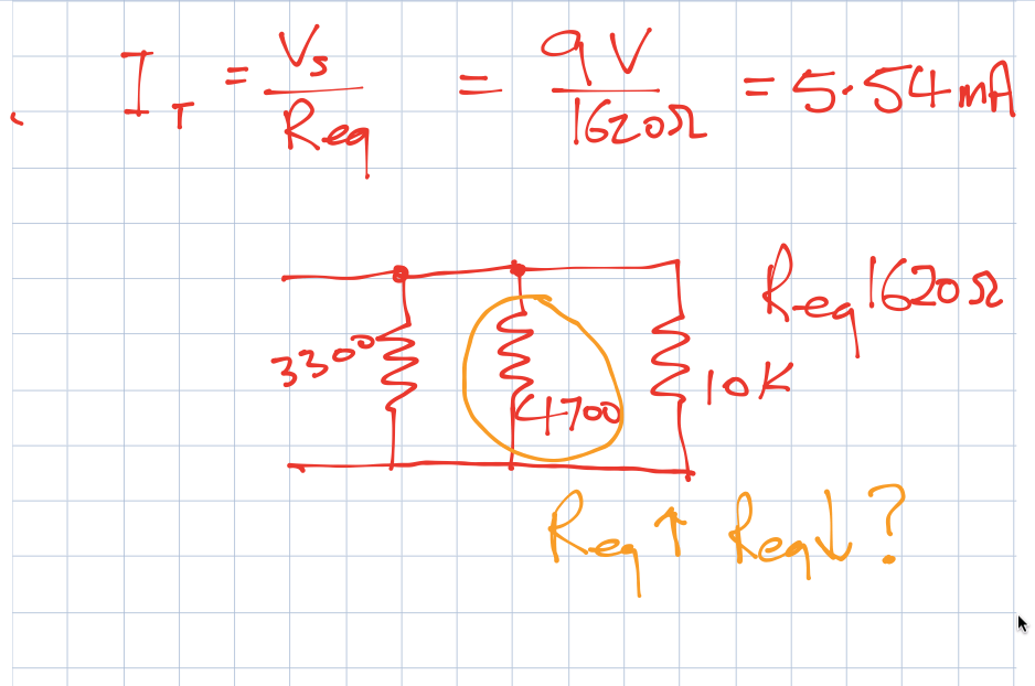 DC Parallel circuits theory notes