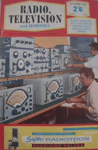 Radio Television and Hobbies 1963