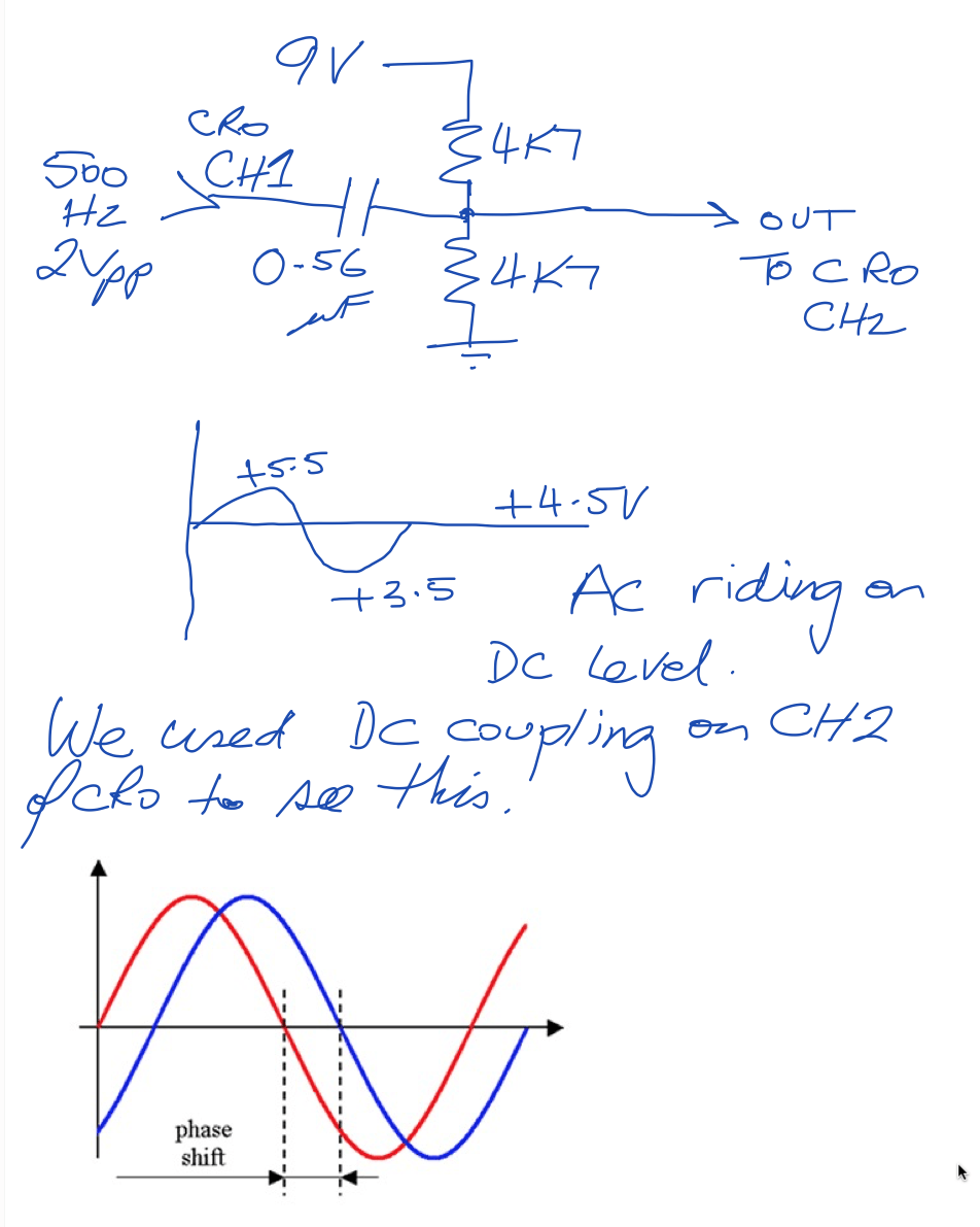 solve probs week 3 Phase Shift Lab Results e