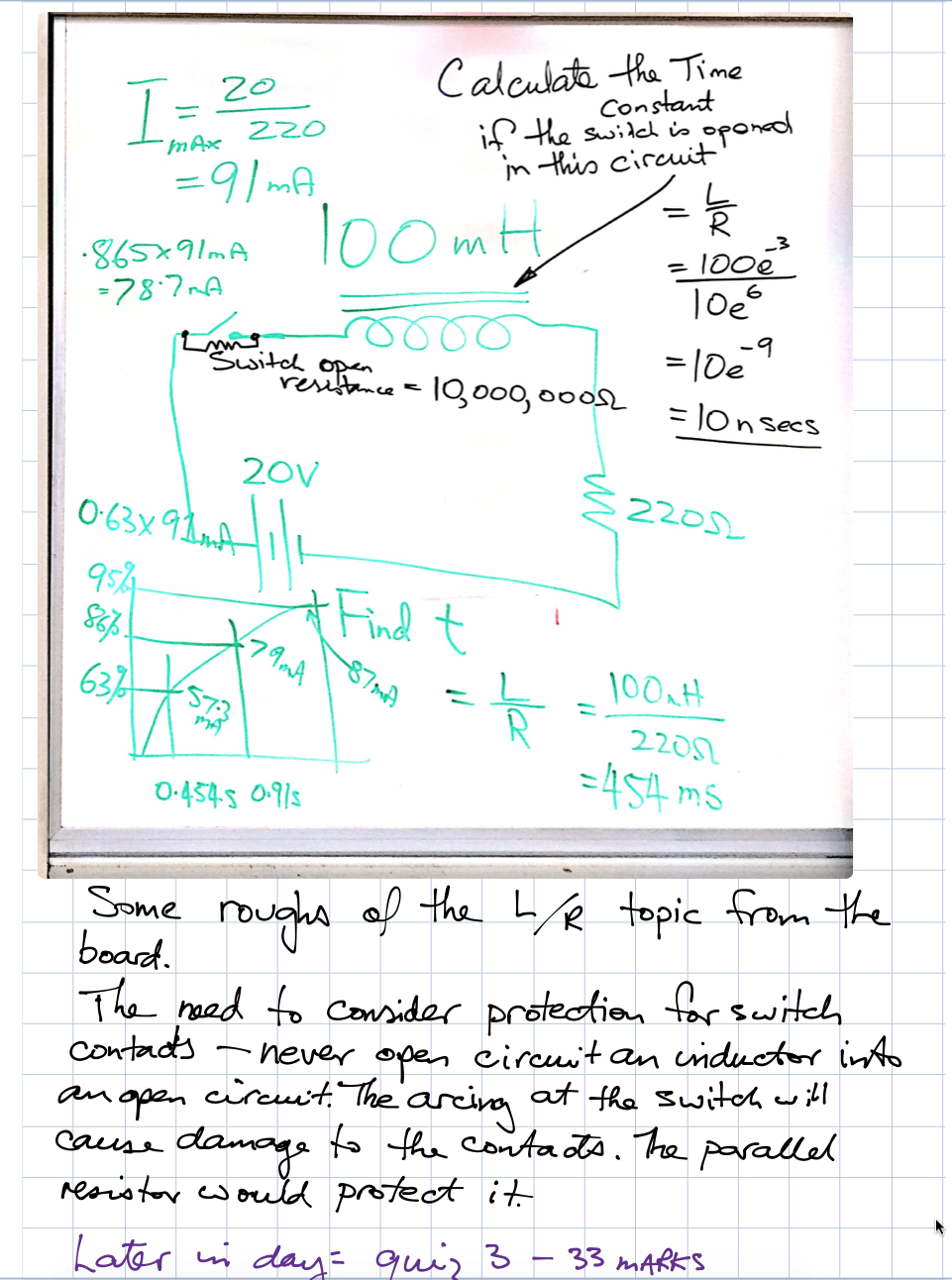 AC week 6 RL circuit theory e