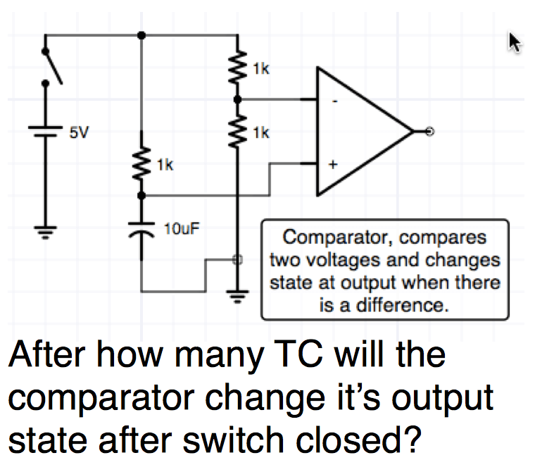 DC circuits revision question