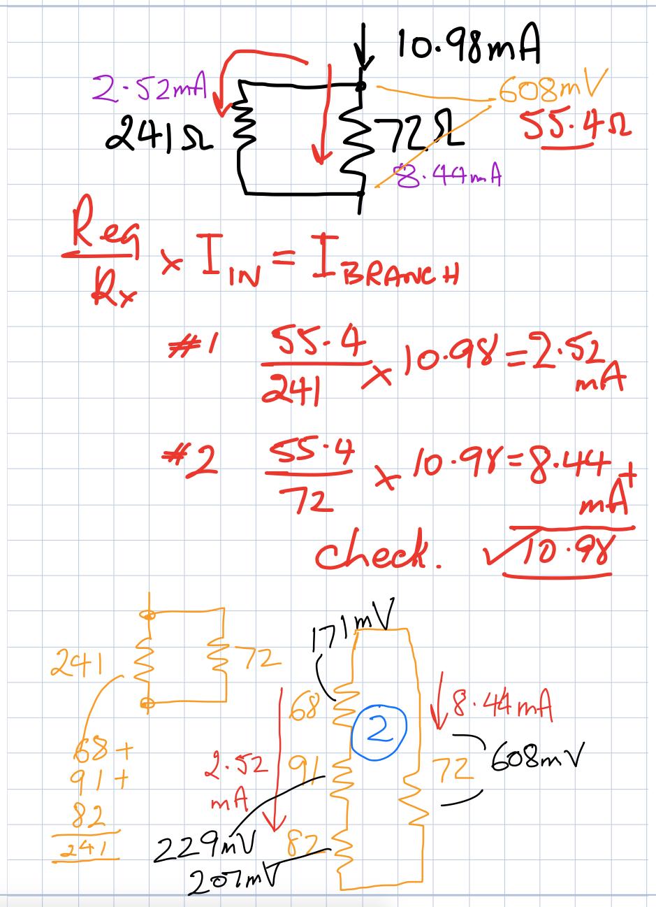 DC circuit activity