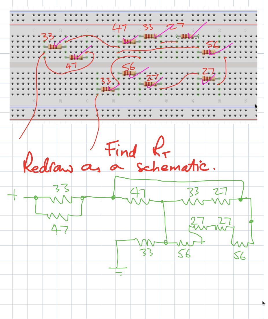 resistors on breadboard quiz