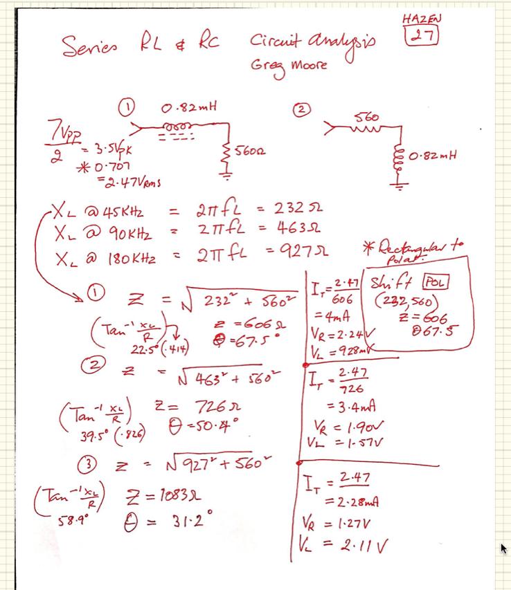 AC week 6 RL series lab results e