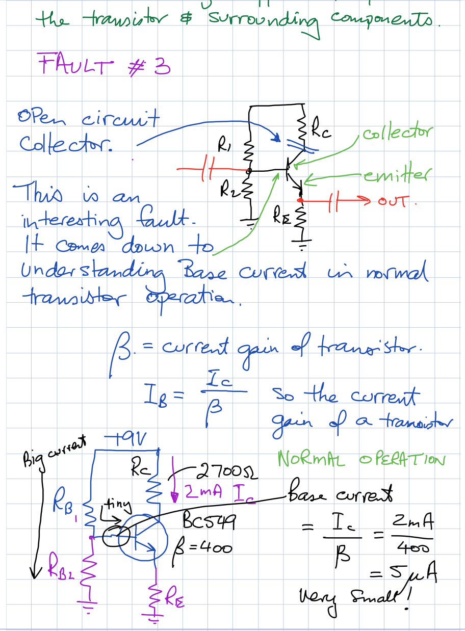 Voltage Divider Ce Amp Faults Common Emitter Amplifier Electronics Solve Probs Week 14 D