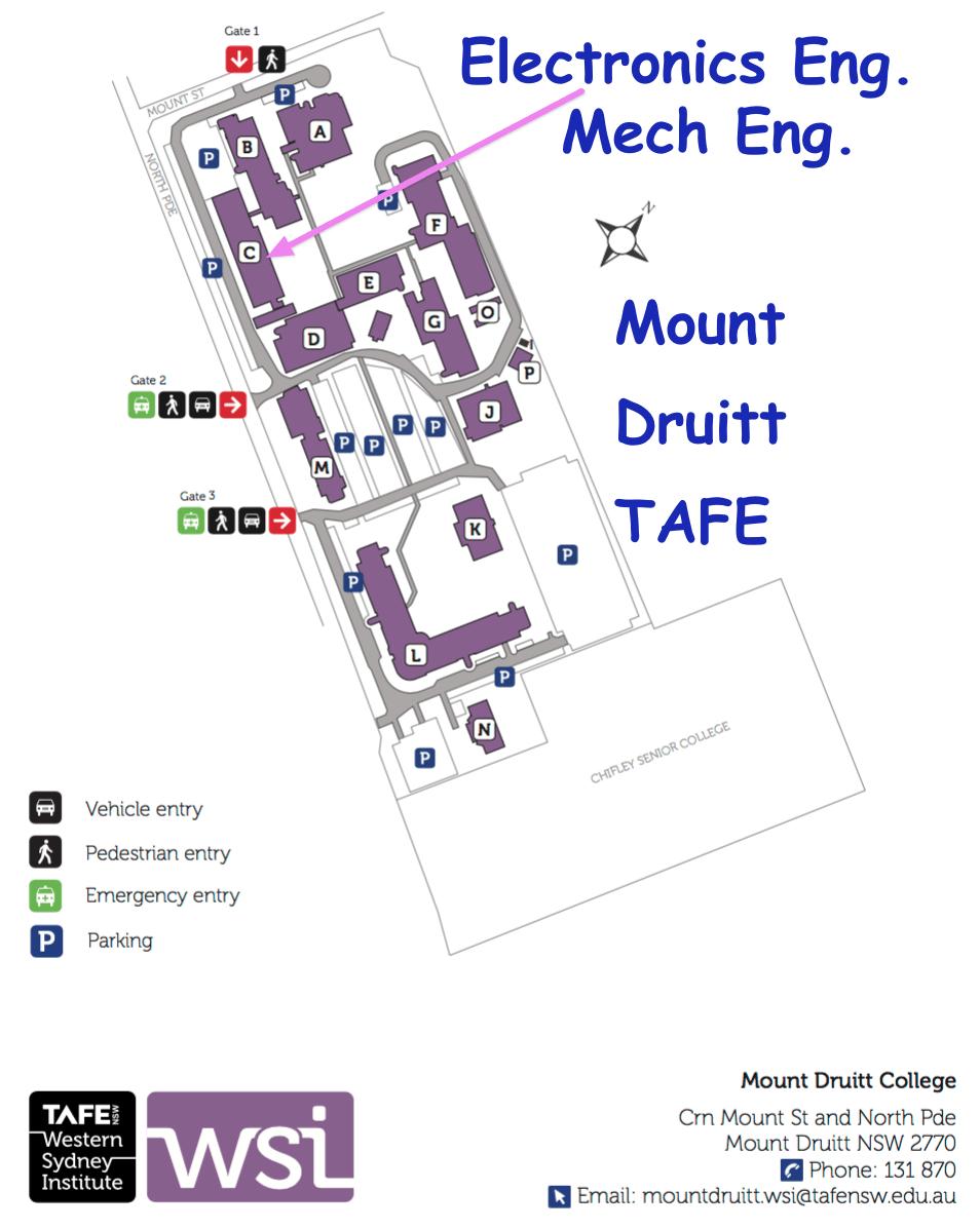 Mount Druitt TAFE Electronics