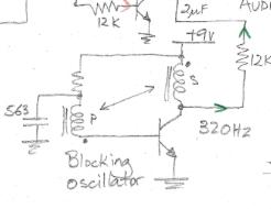 Two Tone Generator circuit added