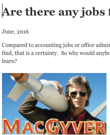 Are there any jobs for electronics technicians