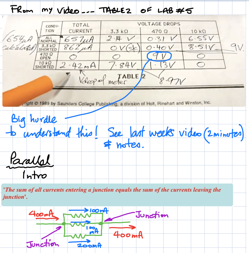 my video table 2 notes kirchhoff