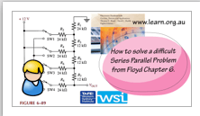 Floyd Problem for Series Parallel solved in Video