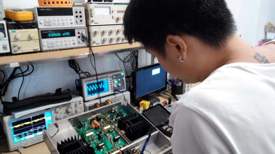 Learning Amplifier Servicing